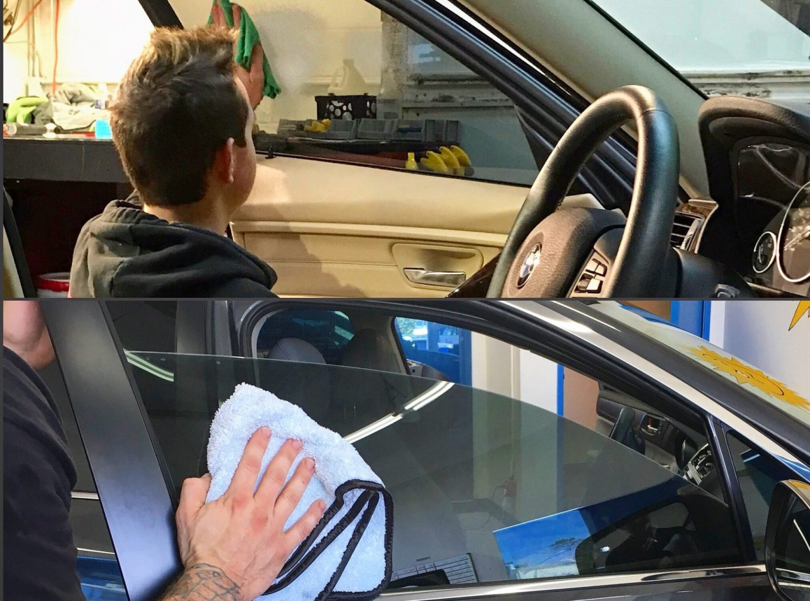 How to Properly Care For and Clean Automotive Tinted Windows - Automotive Window Tinting in the greater Columbus, Ohio area.